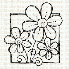 Doodle Lettering, Hand Lettering, Doodle Drawings, Doodle Art, Baby Motiv, Flower Doodles, Doodle Flowers, Doodles Zentangles, Zentangle Patterns