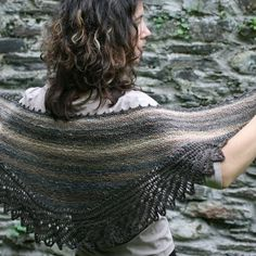Stolen Stitches Maenad Shawl Knitting Pattern