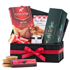 The Chocoholic is a favorite gift idea for all occasions. Discover an irresistible collection of the best chocolate from Europe.