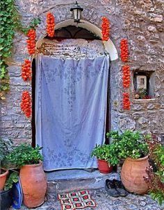 """Tomato..decoration"" Pyrgi Village - Chios Island, Greece"