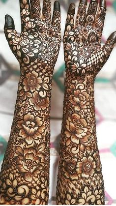 Here are the best and Latest Henna Mehndi Designs for Brides. Wedding Henna Designs, Latest Bridal Mehndi Designs, Floral Henna Designs, Henna Art Designs, Engagement Mehndi Designs, Mehndi Designs For Girls, Unique Mehndi Designs, Latest Mehndi Designs, Tattoo Designs