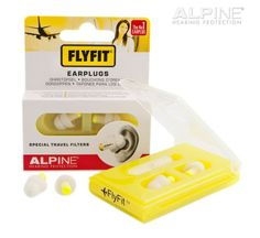 The FlyFit earplugs ensure rest and relaxation during long flights, but are also highly suitable for use when travelling by bus, train, car, etc.