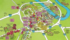 map of downtown nashville | Nashville Map | Official Guide Map of Nashville, Tennessee