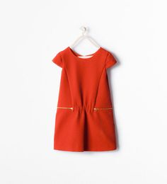 ZARA - KIDS - DRESS WITH ZIPS
