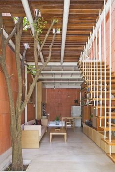I thought you might also enjoy this 290 sq. ft. studio loft in Vietname by A21 Studio Architects. It was completed in 2012 in Ho Chi Minh, Vietnam. This small home was designed for a middle aged wo…