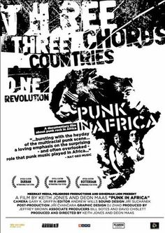 Punk in Africa is a music film directed by Deon Maas & Keith Jones. Buy the music DVD and discover Punk & World Music – Africa documentary at MusicFilmWeb. Keith Jones, African American Culture, Music Film, World Music, International Film Festival, Classic Films, Documentaries, Punk, Awesome Things