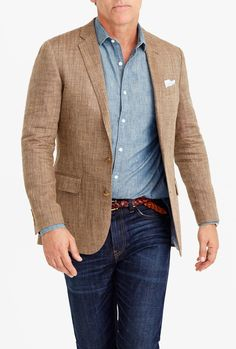 Sports Jacket and Jeans: A Man's Go-To Getup | Jeans button, Men's ...