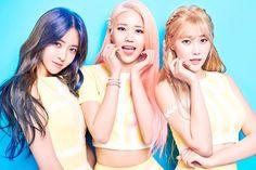 AOA Cream: Chanmi, Hyejeong & Yuna