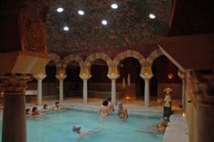 Hammam; Arab-inspired baths in Cordoba, Spain. LOVED this place. SO amazingly relaxing!