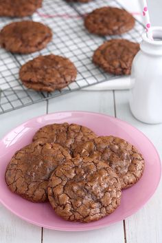 Chocolate Truffle Cookies by Tracey's Culinary Adventures, via Flickr