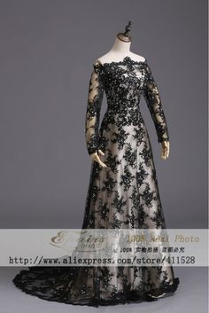 2014 New zuhair murad evening dresses long sleeve real pictures Lace champagne purple black formal gown with stones