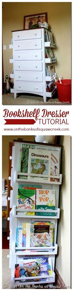 Storage Solution: Children's Books | On the Banks of Squaw Creek: Storage Solution: Children's Books