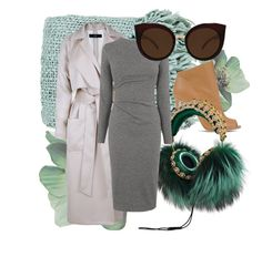 """Greens"" by pageohara ❤ liked on Polyvore featuring Surya, Casadei, TIBI, Dolce&Gabbana, Whistles, Quay, women's clothing, women, female and woman"