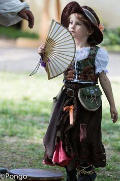 Scarborough Fair Renaissance Festival little girls dress kids costume