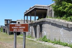 Abandoned Missile Base in N.J.  now on my list of places to visit