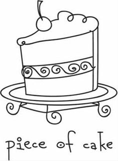 25 best doodle cake images birthday clipart birthday Fifth Anniversary Cake piece of cake stich idea template