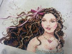 Crafty Rahenna: maid of bling! Knitted Washcloths, Knitted Bags, Thin Ribbon, Cross Stitch Magazines, Just Cross Stitch, Little Stitch, Yarn Shop, Washing Clothes, One Color