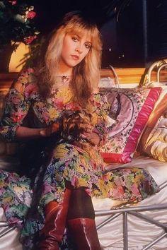 Stevie Nicks, Fleetwood Mac, late 70s