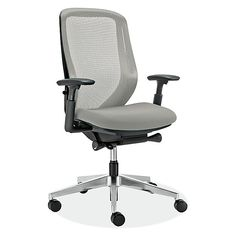 Sylphy Office Chairs in Black - Modern Office Chairs & Task Chairs - Modern…