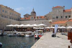 Gradska Luka (Old Port) Dubrovnik Kroatië augustus 2012
