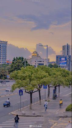Korea Wallpaper, City Wallpaper, Anime Scenery Wallpaper, Landscape Wallpaper, Aesthetic Pastel Wallpaper, Aesthetic Backgrounds, Wallpaper Backgrounds, Aesthetic Wallpapers, Aesthetic Japan