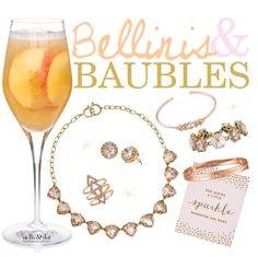 Bellinis & Baubles Stella & Dot trunk show party champagne theme party