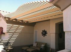 front patio shade idea
