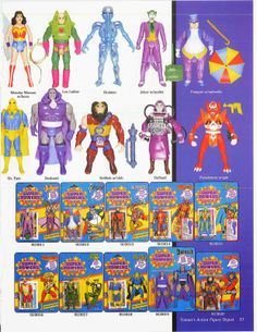Tomart Action Figure Digest: Super Powers Action Figures