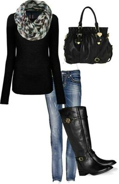 >>>Pandora Jewelry OFF! >>>Visit>> Style for over 35 ~ Classic black with a gorgeous scarf Fashion trends Fashion designers Casual Outfits Street Styles Cute Winter Outfits, Fall Outfits, Casual Outfits, Cold Weather Outfits Casual, Black Outfits, Travel Outfits, Unique Outfits, Winter Dresses, Dress Outfits
