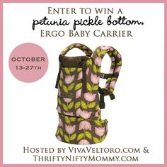 Petunia Pickle Bottom ERGObaby Carrier