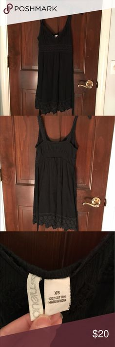 cute black sundress barely worn, super cute and in great condition! feel free to ask any questions or make any offers (: oneill Dresses Mini