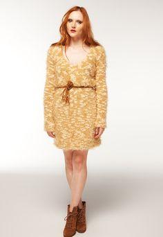 V Neck Beige Dress, Paterned Caviar. Handmade... Make, buy, sell - custom fit fashion - Stanfordrow.com Inverted Triangle, Broad Shoulders, Beige Dresses, Caviar, Fit, High Neck Dress, V Neck, Natural, Pattern