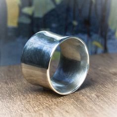 b73430c18691 Fine silver ring molten structure
