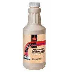 Flood Company 00610 Latex Paint Conditioner - Amazon.com Creates a flow I latex paints so that brush strokes don't show when painting furniture