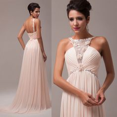 2014 Long Bridesmaid Masquerade dress Formal cocktail prom Evening Gown Bridal  #GK #BallGown #Formal  (Maternity) $52