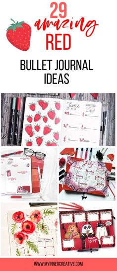Are you looking fior the largest collection of red bullet journal layouts? We have amazing red spreads to make you fee. Bullet Journal Work, Bullet Journal Travel, Bullet Journal How To Start A, Bullet Journal Junkies, Bullet Journal Themes, Bullet Journal Spread, Bullet Journal Layout, Bullet Journal Inspiration, Journal Ideas