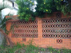 Wynnum, Queensland Privacy Fence Designs, Privacy Fences, Fencing, Block Wall, Cement, Walls, Houses, Outdoor Structures, New Houses