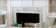 Living Room fireplace surround