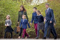 Actu : Mary et Frederik entraînent leurs enfants à la découverte du Danemark