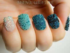 Bead effect nails xx