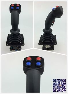 RunnTech Spring Return to Middle Position, -10V Analog Output Joy Stick Controller