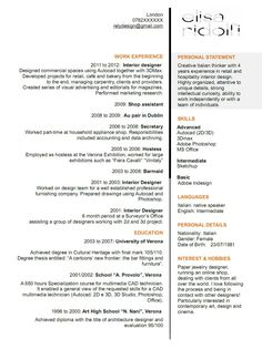 Outstanding cover letter examples interior design cover letter elisa ridolfi interior designer currently looking for a job opportunity as interior designer in spiritdancerdesigns Image collections