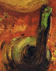 The Cyclops - Odilon Redon, 1898, Kröller-Müller Museum   art ...