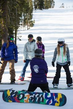 c7f3546482d Join your fellow ladies in an exclusive experience at our Women s Ultimate  4 Snowboard Lessons! Northstar California Resort