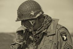 """The 101st Airborne Division- """"Screaming Eagles"""" is a U.S. Army modular light infantry div. trained for air assault operations. During WWII, it was renowned for its role in Operation Overlord, the D-Day landings on 6 June 44, in Normandy, Op. Market Garden, the liberation of Holland & action during the Battle of the Bulge around the city of Bastogne, Belgium. During the Vietnam War, the 101st Airborne Division fought in major campaigns & battles including the fight for Hamburger Hill, May 69."""