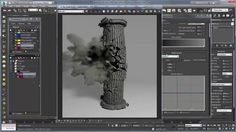 Using Phoenix FD to Create Dust and Fine Debris on Vimeo