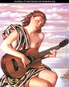 Amethyst, 1946 - Tamara de Lempicka - www.tamara-de-lempicka.org