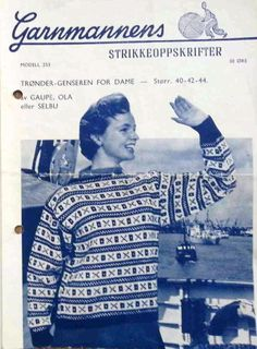 Trøndergenseren 253 Nye, Jumpers, Knitting Patterns, Men Sweater, Sweaters, Jackets, Inspiration, Fashion, Down Jackets