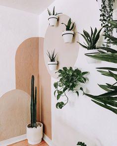Diy Bedroom Decor, Diy Home Decor, Bedroom Wall Designs, Baby Bedroom, Decor Room, Bathroom Designs, Aesthetic Room Decor, Plant Aesthetic, Plant Decor
