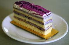 Ube Opera Cake